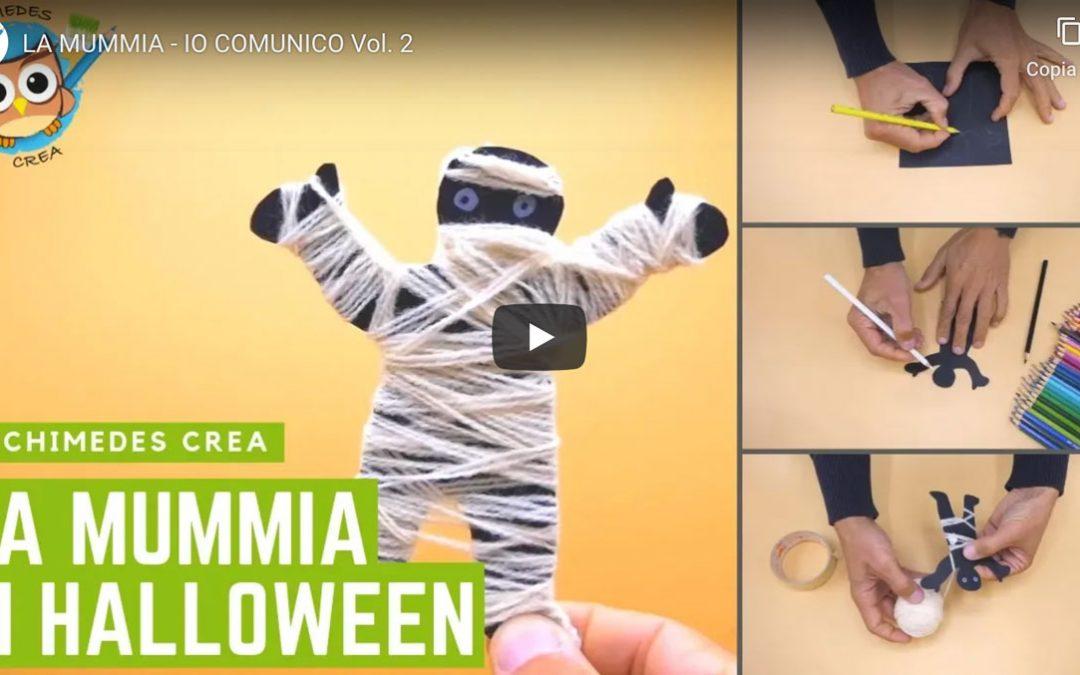 La mummia di halloween